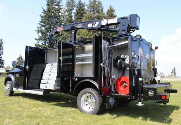 Mechanic Service Trucks Work Truck West