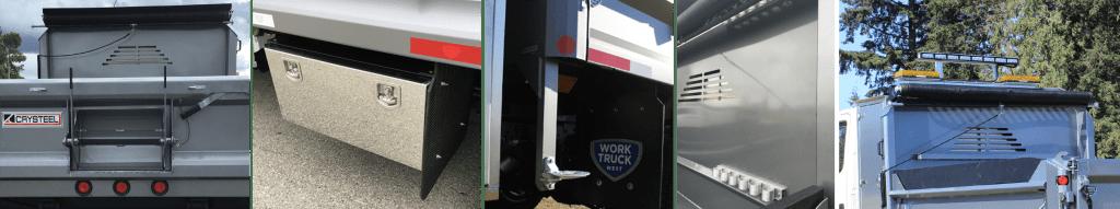 dump truck accessories