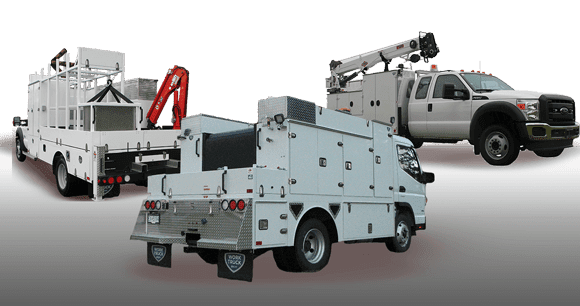 service trucks for municipal applications