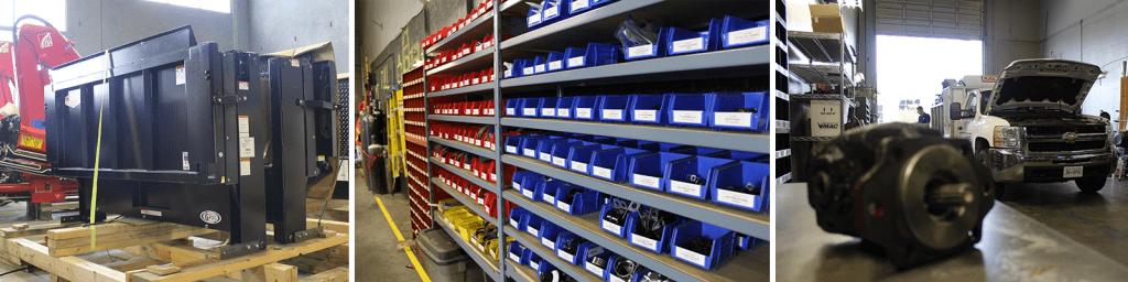 truck equipment parts
