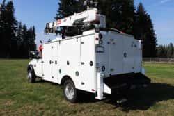 aluminum service truck