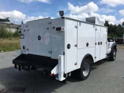 ford non-crane service truck