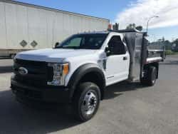 ford f550 regular cab 9' dump truck for sale work truck west canada