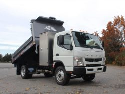 fuso fe180 regular cab dump truck for sale canada
