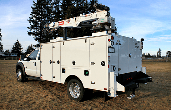 cnre featured equipment button service truck