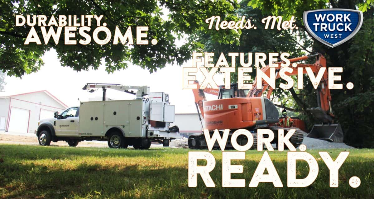 Regehr Contracting service truck Needs Met