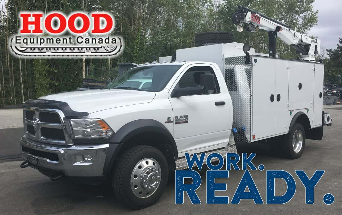 hood logging mobile mechanics service truck
