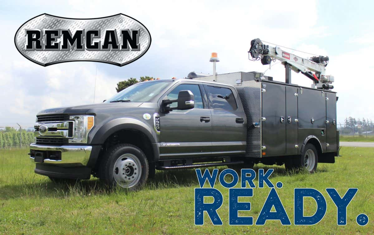 Remcan Projects mechanics service truck