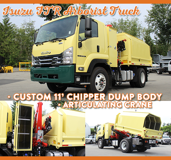 Top-Builds-of-2018-work-truck-west-Isuzu-yellow-dump
