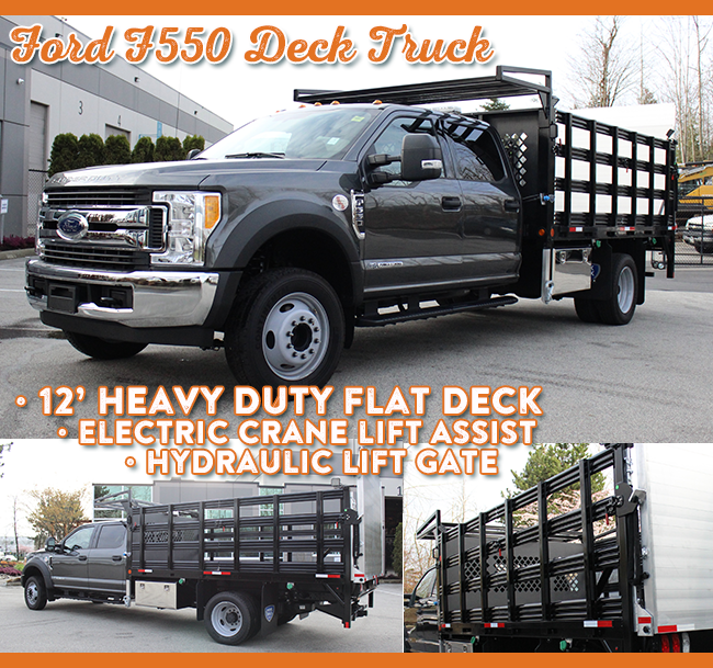 Top-Builds-of-2018-work-truck-west-Ford-grey-deck
