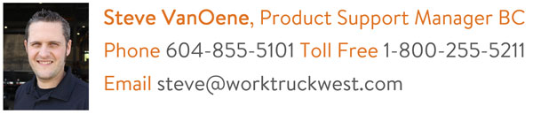 steve-vanoene-work truck west service contact