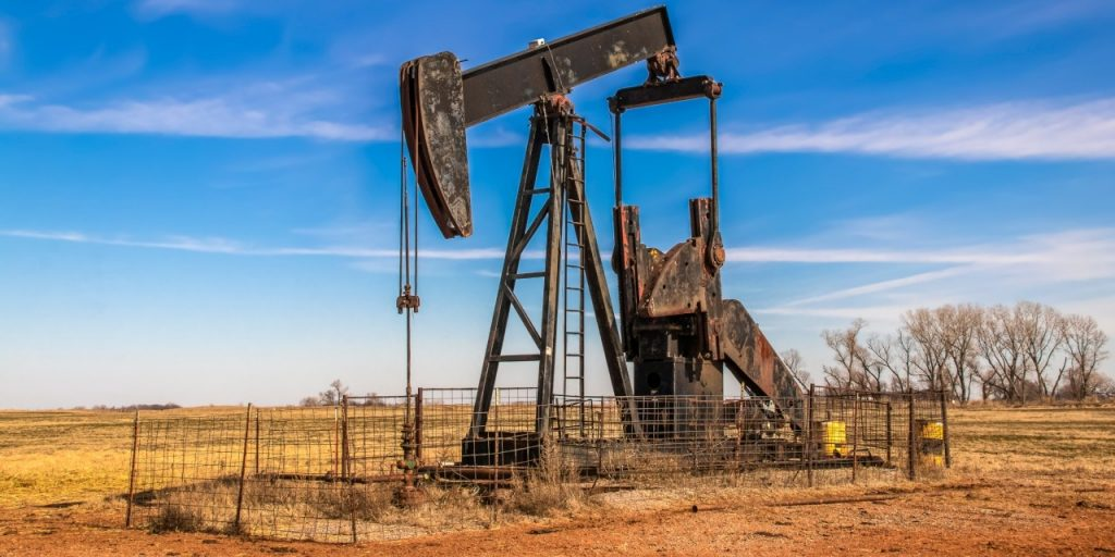 orphaned oil well abandoned site