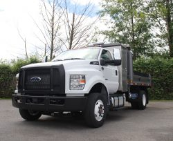 Ford F650 dump truck for sale canada work truck west