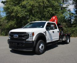 ford f550 deck crane truck for sale lease canada langley bc british columbia