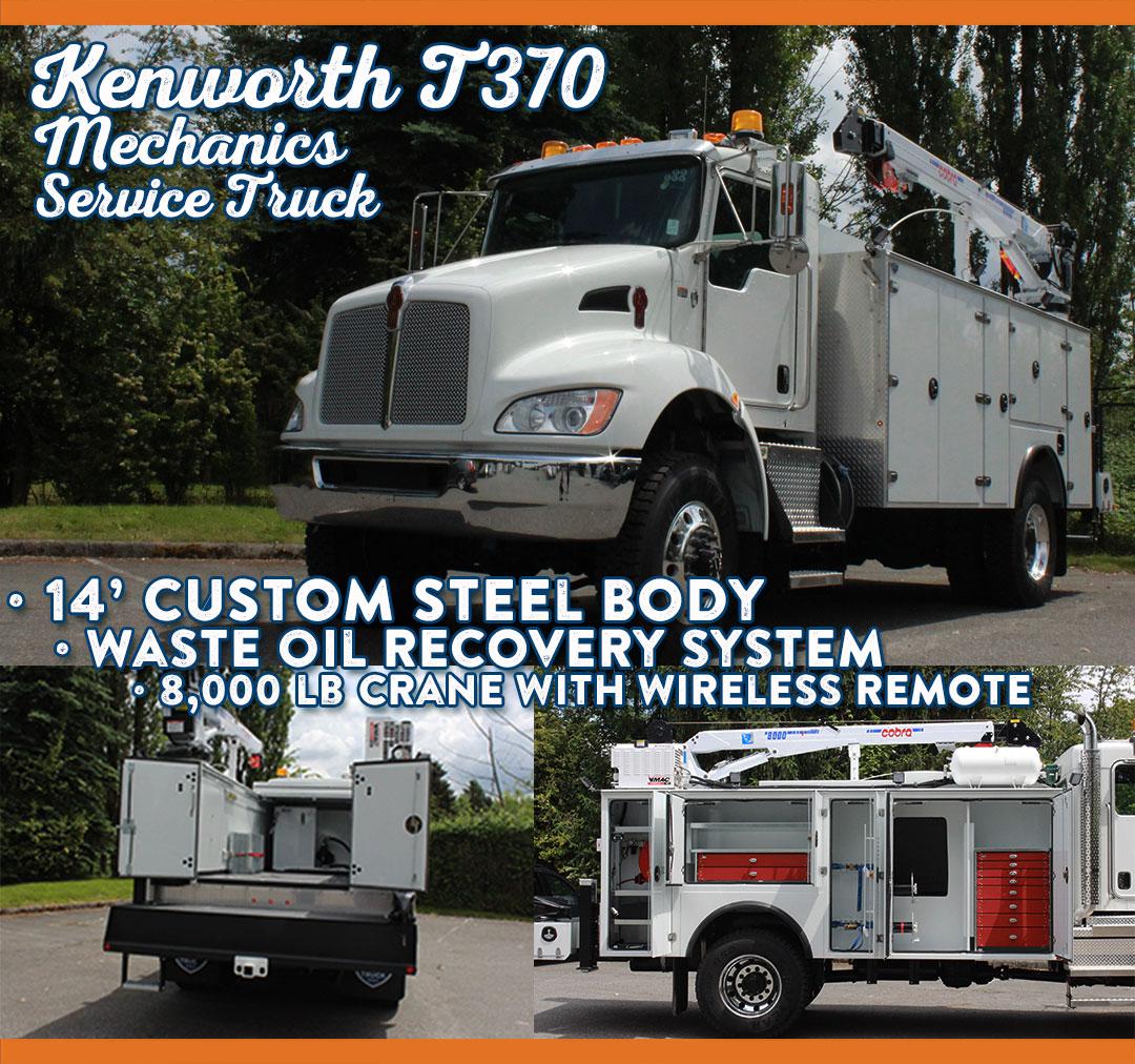work truck west kenworth mechanics service truck