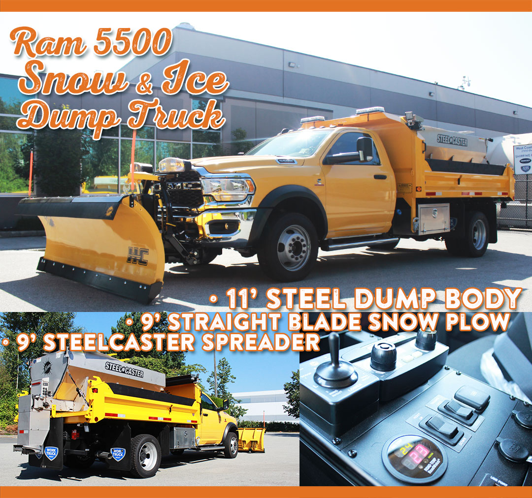 Work Truck West Top-Builds-of-2020-email-content-Yellow-Snow-Ice-Truck