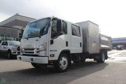 isuzu npr xd aluminum landscape truck dump for sale canada