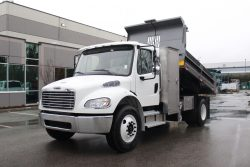freightliner m2 106 regular cab dump truck for sale canada work truck west